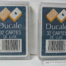 Barajas de cartas: DUCALE 32 CARTAS DE LUXE . Lote 137101298