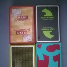 Barajas de cartas - LOTE DE 4 BARAJAS FOURNIER NUEVAS SIN USAR - 137184725