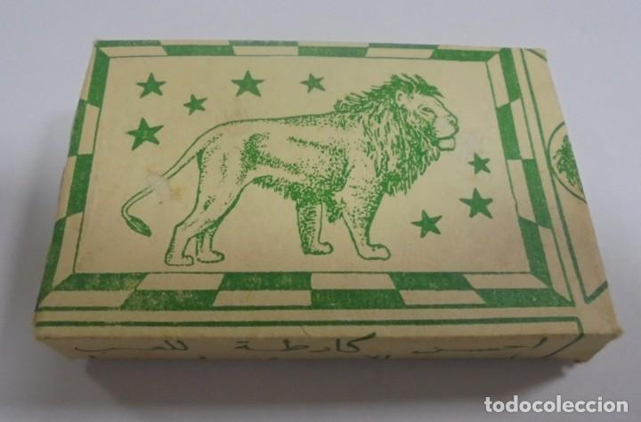 BARAJA DE CARTAS. CARTES LION. CERRADA. CON PAPEL ENVUELTO ORIGINAL. VER FOTOS (Juguetes y Juegos - Cartas y Naipes - Otras Barajas)