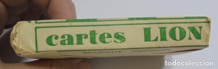 Barajas de cartas: BARAJA DE CARTAS. CARTES LION. CERRADA. CON PAPEL ENVUELTO ORIGINAL. VER FOTOS - Foto 4 - 137510638