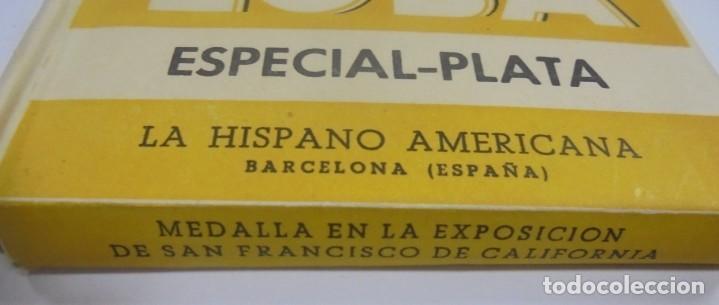 Barajas de cartas: BARAJA DE CARTAS. MARCA LA LOBA. ESPECIAL-PLATA. LA HISPANO AMERICANA. PAPEL ENVUELTO ORIGINAL. VER - Foto 2 - 137510914