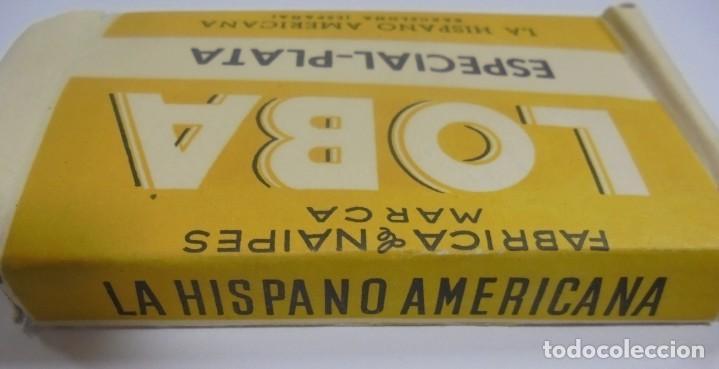 Barajas de cartas: BARAJA DE CARTAS. MARCA LA LOBA. ESPECIAL-PLATA. LA HISPANO AMERICANA. PAPEL ENVUELTO ORIGINAL. VER - Foto 4 - 137510914