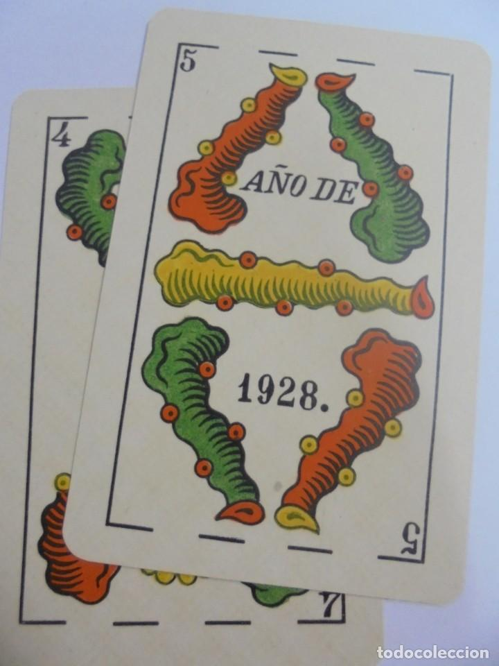 Barajas de cartas: BARAJA DE CARTAS. JUAN ROURA. BARCELONA. LA LOBA. NAIPES FINOS. BARAJA ESPAÑOLA. VER - Foto 7 - 137582842