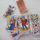 Barajas de cartas: BARAJA DE CARTAS DEL TAROT DE MARSELLA. + INSTRUCCIONES B.P. GRIMAUD. 1973 . Lote 137703002