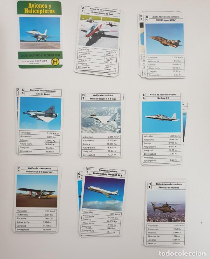 Barajas de cartas: Aviones y helicópteros de Fournier - Foto 2 - 137752106
