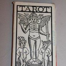 Barajas de cartas: BARAJA TAROT, 1968, EDICIÓN ESPECIAL INAUGURACIÓN GALES-TUSET. Lote 137858782