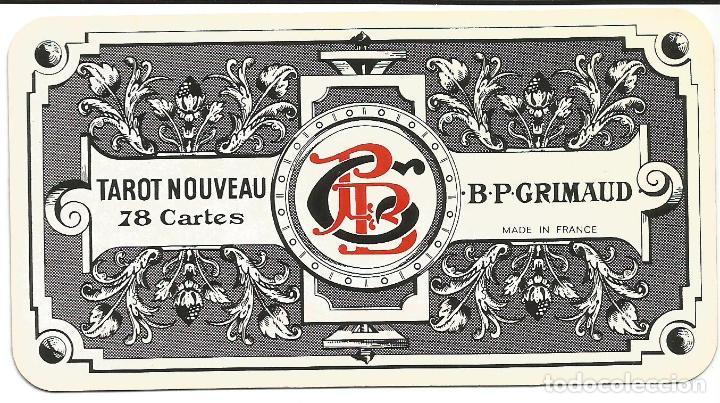 TAROT NOUVEAU-- FRANCIA SIGLO XIX (Juguetes y Juegos - Cartas y Naipes - Barajas Tarot)