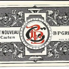 Barajas de cartas: TAROT NOUVEAU-- FRANCIA SIGLO XIX. Lote 137866990