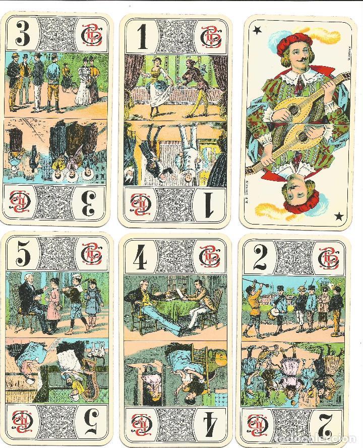 Barajas de cartas: TAROT NOUVEAU-- FRANCIA SIGLO XIX - Foto 5 - 137866990