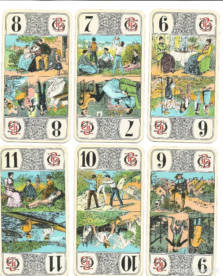 Barajas de cartas: TAROT NOUVEAU-- FRANCIA SIGLO XIX - Foto 6 - 137866990