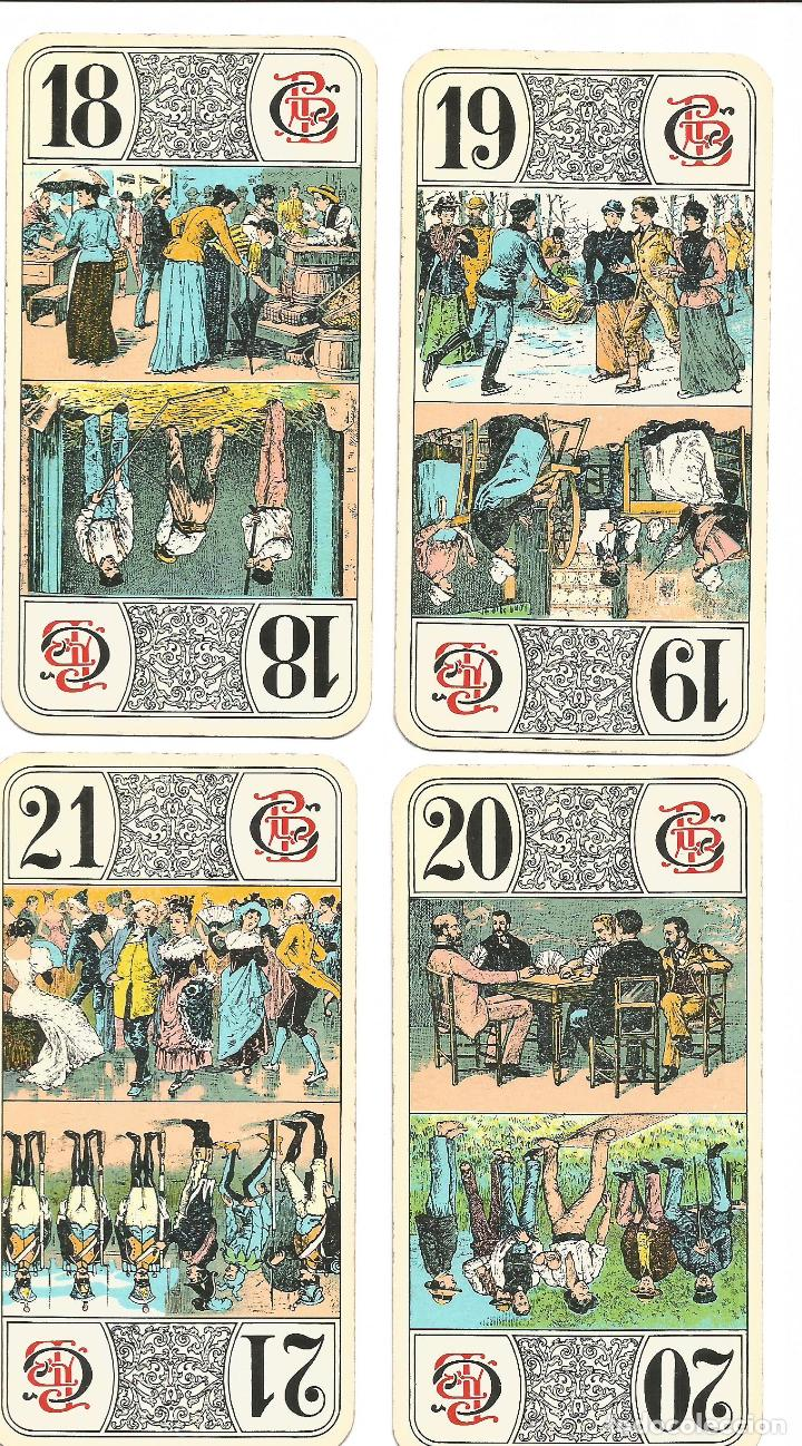Barajas de cartas: TAROT NOUVEAU-- FRANCIA SIGLO XIX - Foto 8 - 137866990