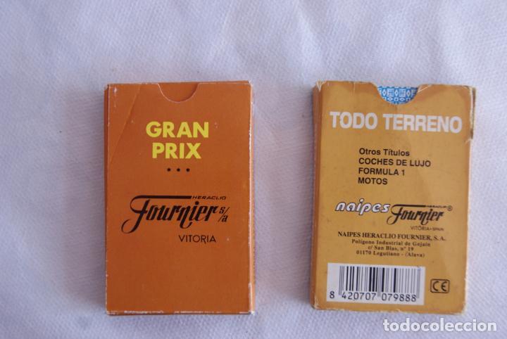 Barajas de cartas: LOTE DE 2 BARAJAS DIFERENTES TODO TERRENOS Y GRAN PRIX FOURNIER - Foto 2 - 138055458