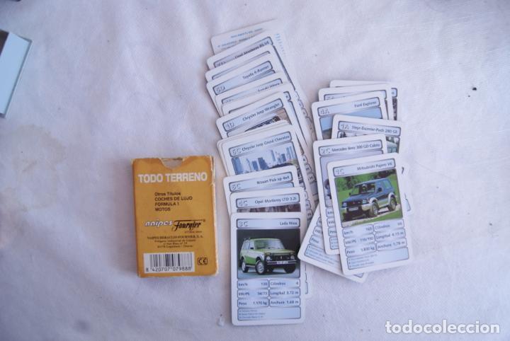 Barajas de cartas: LOTE DE 2 BARAJAS DIFERENTES TODO TERRENOS Y GRAN PRIX FOURNIER - Foto 3 - 138055458