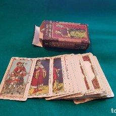 Barajas de cartas: BARAJA TAROT DEL LIBRO DE THOTH. Lote 138064358