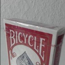 Jeux de cartes: BARAJA POKER. BICYCLE RIDER BACK. FABRICADA EN USA. COMPLETA Y SIN DESPRECINTAR.. Lote 138066670