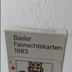 Barajas de cartas: BARAJA POKER ALEMANA BASLER FASNACHTSKARTEN DE 1983. ILUSTRADA POR PRACK Y BEURET. COMPLETA.. Lote 138067186