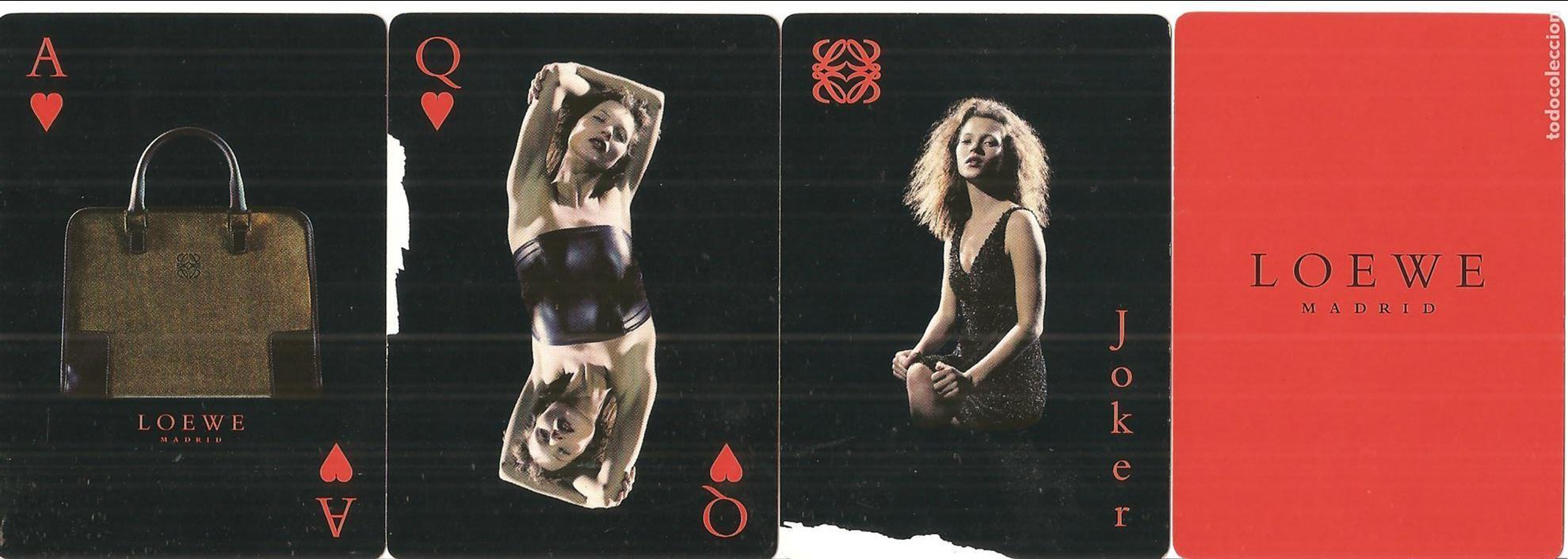 BARAJA, LOEWE-MADRID, POKER, NUEVA, 52 NAIPES + 3 JOKER (Juguetes y Juegos - Cartas y Naipes - Barajas de Póker)