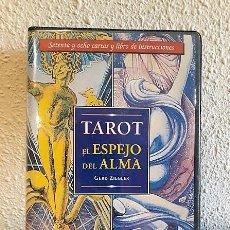 Barajas de cartas: BARAJA DE TAROT COMPLETO CON LIBRO DE USO DE ALEISTER CROWLEY. Lote 138681286
