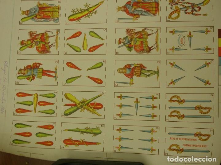 Barajas de cartas: BARAJA ESPAÑOLA DE ANTONIO MOLINER DE BURGOS EN PLIEGO 1920 - Foto 7 - 138816166