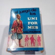 Barajas de cartas: CARTAS EL JUEGO DE LOS UNIFORMES EDICIONES RECREATIVAS. Lote 138890818