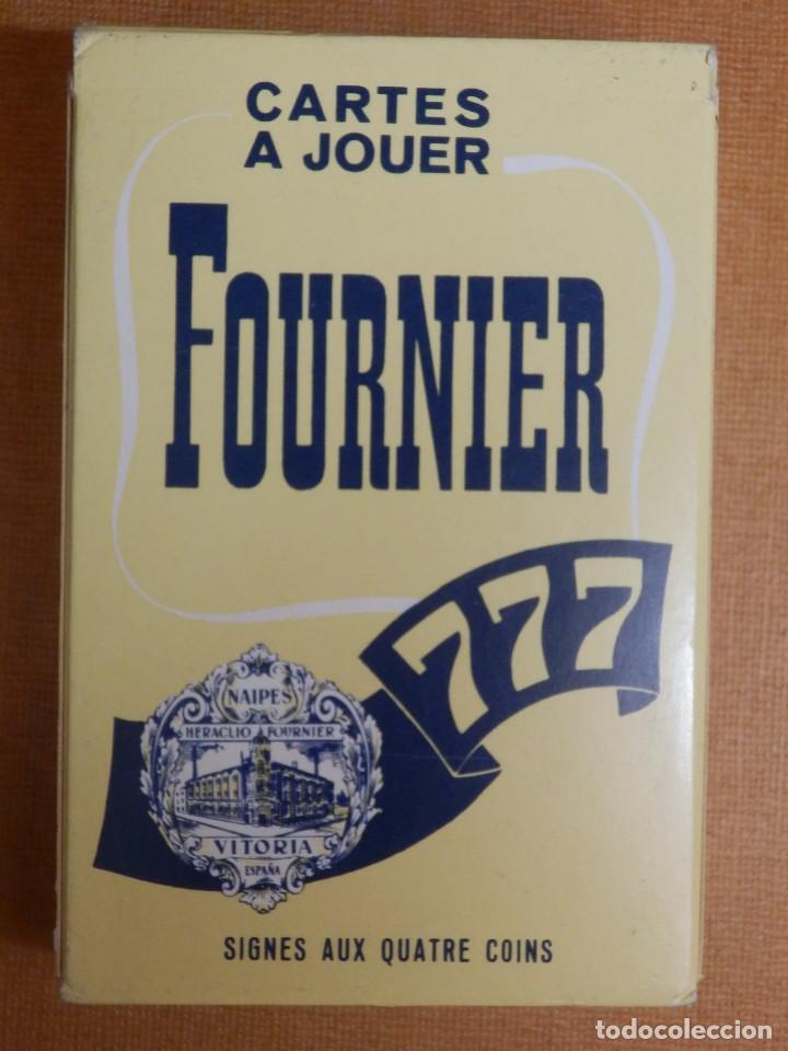 BARAJA DE 54 CARTAS - NAIPES H. FOURNIER - 777 - NUEVA SIN USO - SIGNES AUX QUATRE COINS (Juguetes y Juegos - Cartas y Naipes - Barajas de Póker)