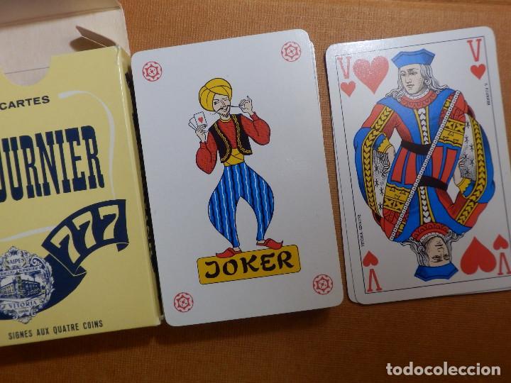 Barajas de cartas: Baraja de 54 Cartas - Naipes H. Fournier - 777 - Nueva sin uso - SIGNES AUX QUATRE COINS - Foto 2 - 147414234