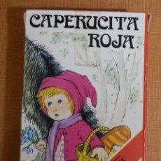Jeux de cartes: BARAJA INFANTIL DE 33 CARTAS - NAIPES H. FOURNIER - CAPERUCITA ROJA - NUEVA, SIN ABRIR . Lote 138918742
