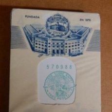Barajas de cartas: BARAJA DE 54 CARTAS - NAIPES H. FOURNIER - TELEMATIC WESTINGHOUSE - NUEVA, CON PRECINTO AÑOS 60´S. Lote 138919002