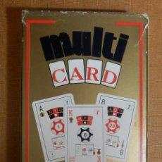 Barajas de cartas: BARAJA MÚLTIPLES APLICACIONES 50 CARTAS - NAIPES H. FOURNIER - ESPAÑOLA , RULETA , DADOS - BONOLOTO. Lote 138919110
