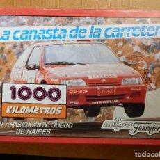 Barajas de cartas: JUEGO DE CARTAS DE 2 BARAJAS - NAIPES H. FOURNIER - LA CANASTA DE LA CARRETERA - NUEVA, CON PRECINTO. Lote 138919122