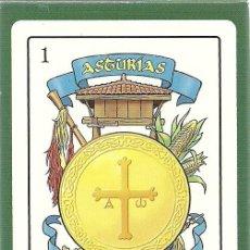 Baralhos de cartas: BARAJA ASTURIANA FOURNIER - 50 NAIPES - NUEVA. Lote 138949682