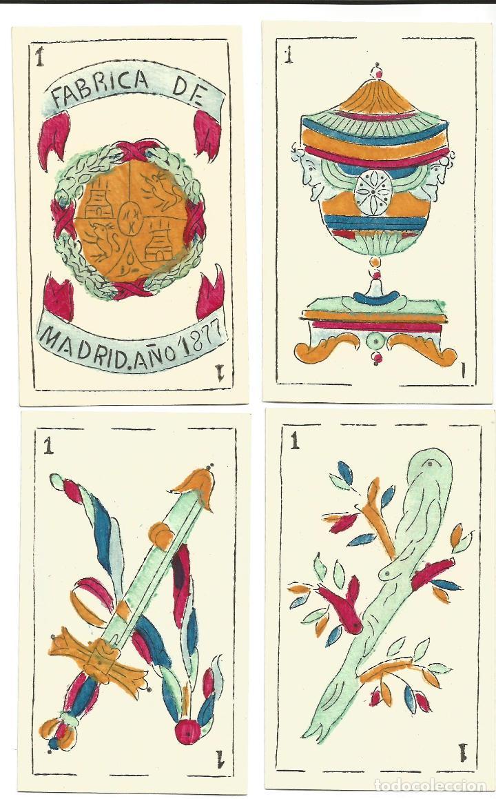 Barajas de cartas: BARAJA SIGLO XIX - Foto 2 - 139007894