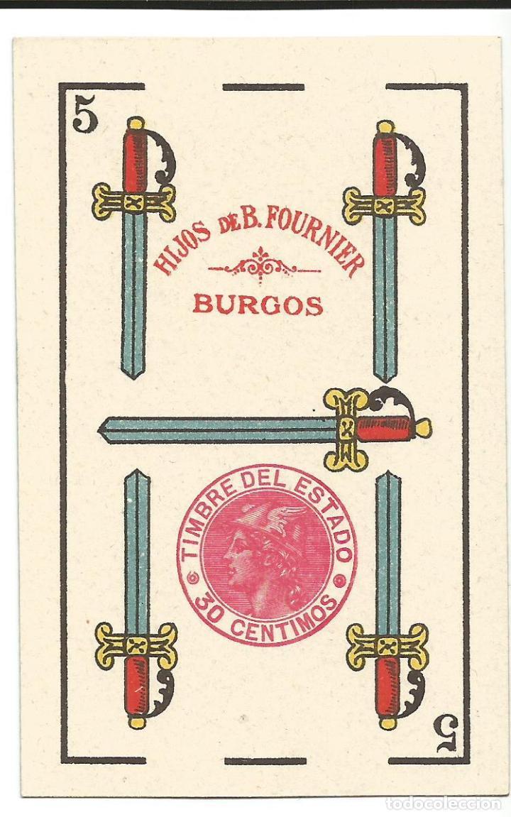 RARISIMA BARAJA HIJOS DE BRAULIO FOURNIER (Juguetes y Juegos - Cartas y Naipes - Baraja Española)