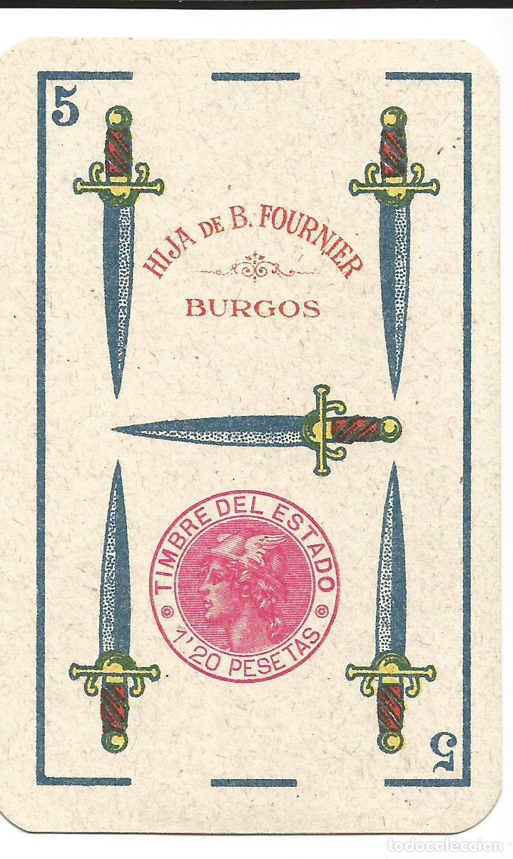Barajas de cartas: RARISIMA BARAJA HIJA DE BRAULIO FOURNIER - Foto 6 - 139009038
