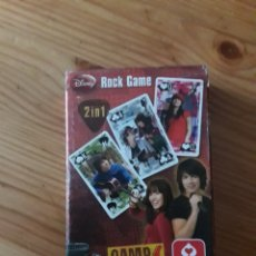 Barajas de cartas: BARAJA CARTAS CAMP ROCK 2IN1 DISNEY. Lote 139037818