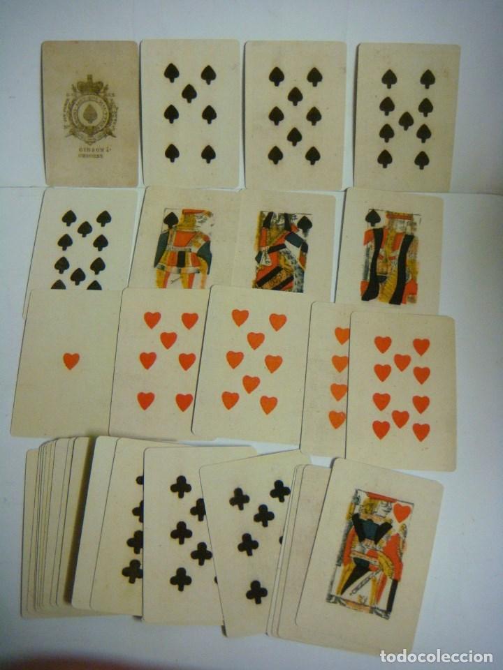 BARAJA DE CARTAS Nº-18 BARAJA PARA PIQUET ISLAS BRITANICAS SIGLO XVIII (Juguetes y Juegos - Cartas y Naipes - Baraja Española)