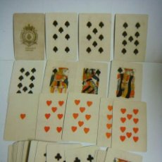 Barajas de cartas: BARAJA DE CARTAS Nº-18 BARAJA PARA PIQUET ISLAS BRITANICAS SIGLO XVIII. Lote 175925745