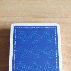 Barajas de cartas: BARAJA CARTAS FOURNIER - LORILLEUX INTERNACIONAL - NUEVA CON PRECINTO - 50 CARTAS. Lote 139152498