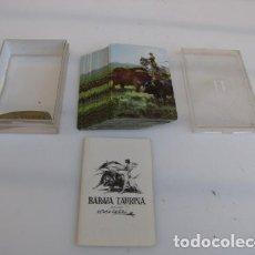 Barajas de cartas: BARAJA TAURINA TOROS. FOURNIER. COMPLETA. Lote 139223750