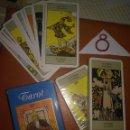 Barajas de cartas: ANTIGUA BARAJA DEL TAROT - ARTHUR E. WAITE 1910. Lote 139387002
