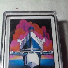 Barajas de cartas: BARAJA CARTAS QUEEN MARY & SPRUCE GOOSE LONG BEACH,CALIFORNIA (MADE IN HONG KONG). Lote 139477570
