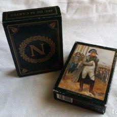 Barajas de cartas: 2 BARAJAS DE CARTAS JEU NAPOLEON 1ER. EDITIONS DUSERRE. PARIS.. Lote 139563922
