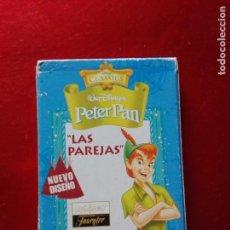 Barajas de cartas: 4353/JUEGO-BARAJAS-PETER PAN-HERACLIO FOURNIER-DISNEY-NUEVO DISEÑO. Lote 139591658