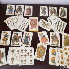 Barajas de cartas: BARAJA CASTELLANA . ESPAÑA, SIGLO XIX . IMPRESA EN 2004, REPRODUCCIÓN DE LA ORIGINAL. Lote 139630892