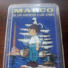 Barajas de cartas: BARAJA MARCO (DE LOS APENINOS A LOS ANDES PRIMERA PARTE)AÑO 76. Lote 139722494