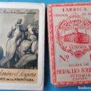 Barajas de cartas: BARAJA HIJOS DE HERACLIO FOURNIER , PUBLICIDAD PALOMINO Y VERGARA , JEREZ, PERFECTA CON CAJA. Lote 139736982