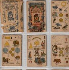 Barajas de cartas: BARAJAS ESPAÑOLA SILABICA. Lote 139913714
