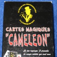 Barajas de cartas: CARTES MAGIQUES - CAMELEON - BARAJA DE MAGIA. Lote 141537288