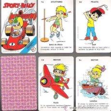 Barajas de cartas: BARAJA SPORT BILLY, 32 CARTAS EN ESTUCHE, SIN ESTRENAR.. Lote 140162546
