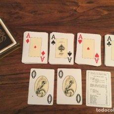 Barajas de cartas: BARAJA DE CARTAS PUBLICIDAD LOEWE, HERACLIO FOURNIER.. Lote 140254594